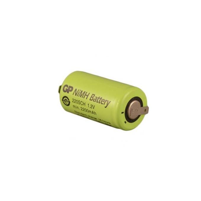 Акумулаторна батерия GP NiMH, SC 1.2V, 2200mAh, 1бр.  image