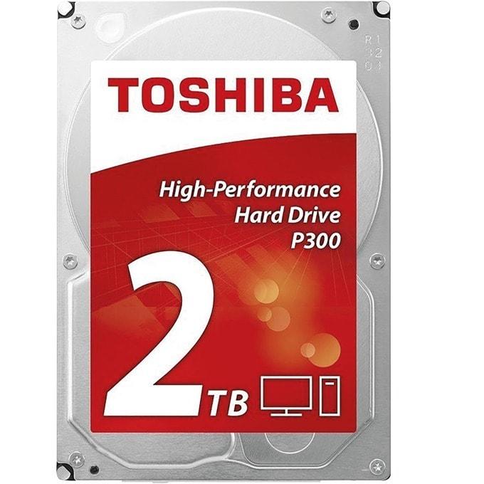 """Твърд диск 2TB Toshiba P300, SATA 6.0 Gbit/s, 7200rpm, 64MB, 3.5""""(8.89 cm) image"""