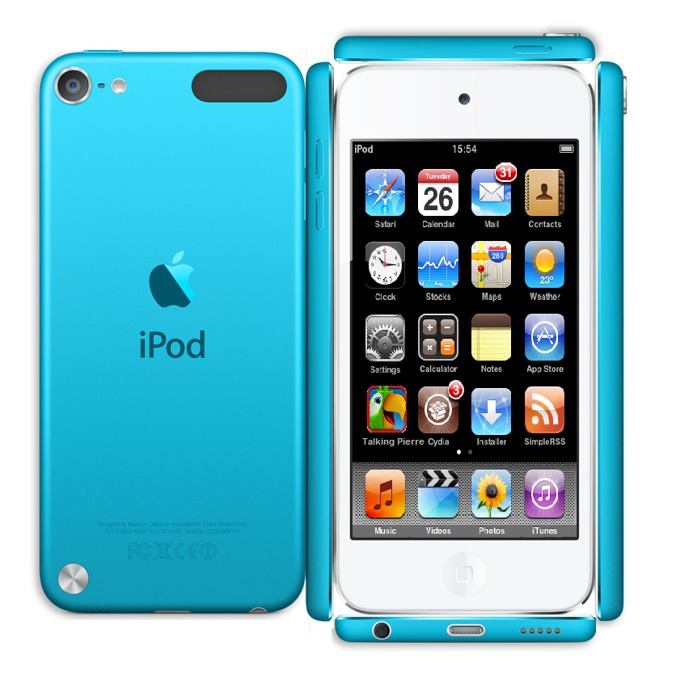 "Apple iPod touch, 4.0"" display, 64Gb, син image"