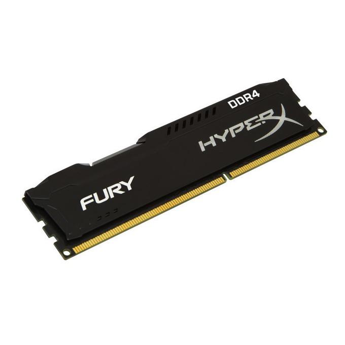 8GB DDR4 2400MHz, HyperX Fury Black HX424C15FB2/8, 1.2V image