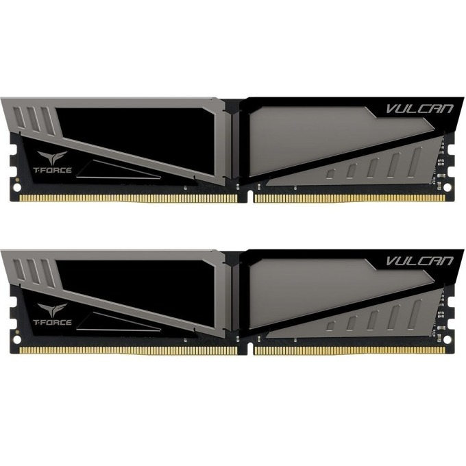 16GB (2x8GB) DDR4 2666MHz, Team Group T-Force Vulcan, TLGD416G2666HC15BDC01, 1.2V image