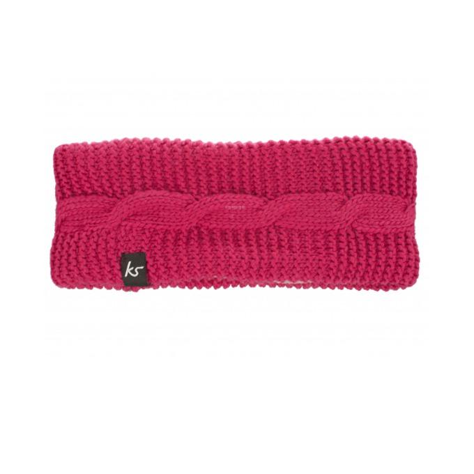 Слушалки KitSound Bow Headband, 40mm говорители, 3.5mm jack, 103dB, розови image