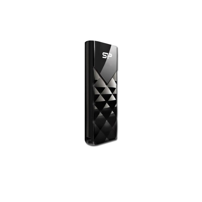 Памет 8GB USB Flash Drive, Silicon Power Silicon Ultima U03, USB 2.0, черна image