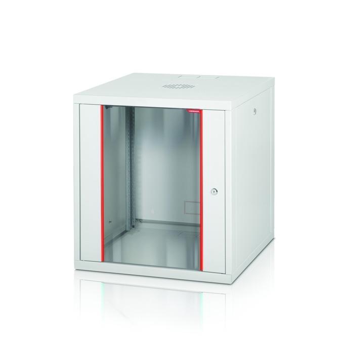"""Комуникационен шкаф Formrack GLD-9U560/ALFA-9U560, 19"""", 9U, 555 x 560 mm, бял image"""