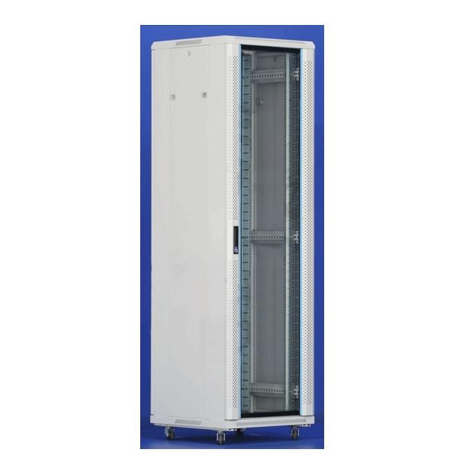 "Комуникационен шкаф Toten AS.6642, 19"", 42U, 600x600 мм, до 800кг товароносимост, IP20 защита image"