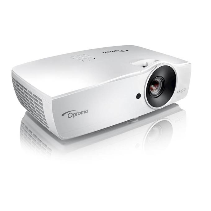 Проектор Optoma W461, 3D, DLP, WXGA(1280x800), 20,000:1, 5000lm, 2x HDMI, VGA, USB, RJ-45, RS232C image