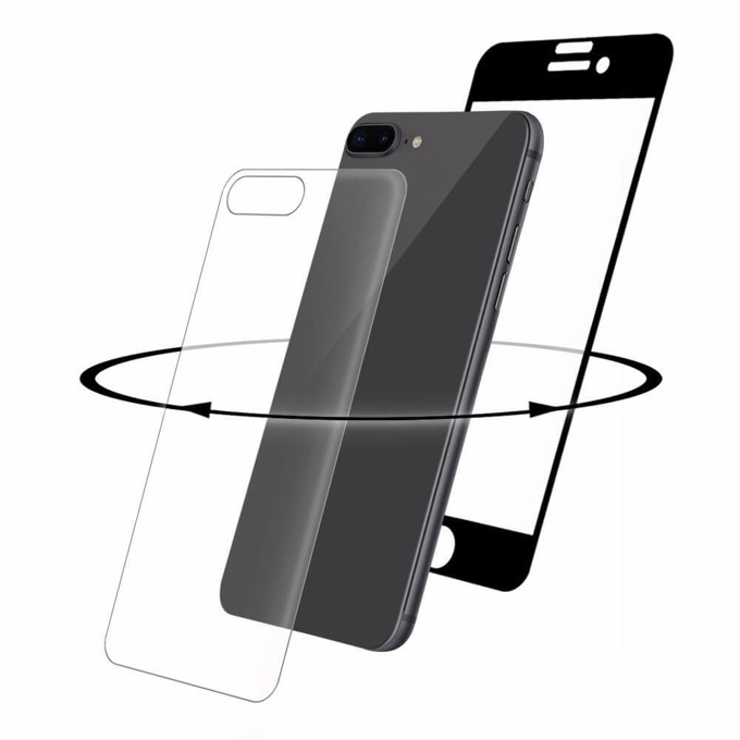 Протектор от закалено стъкло /Tempered Glass/ Eiger, iPhone 8 Plus, iPhone 7 Plus  image