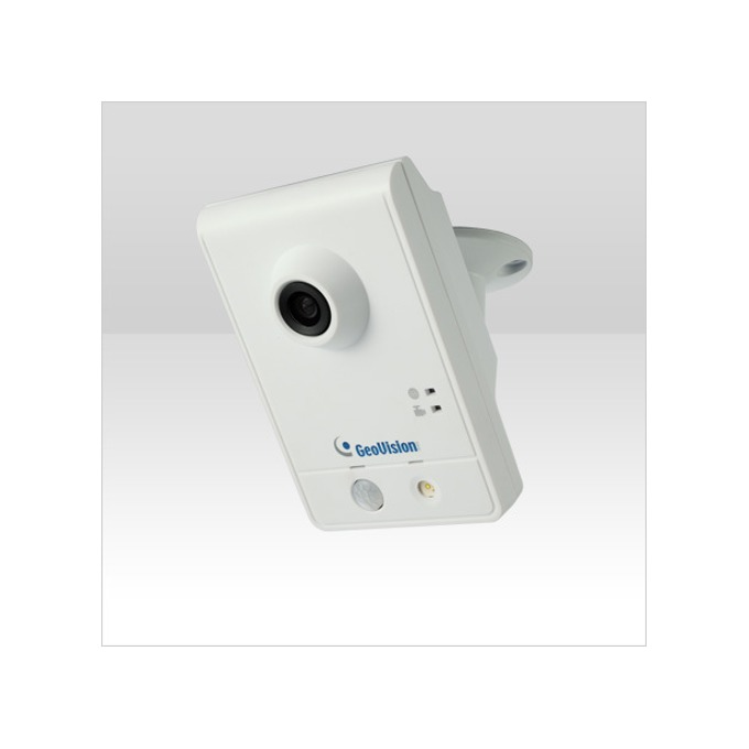 IP камера GeoVision GV-CAW120, 1.3Mpx, WDR, Wireless Advanced Cube, 3.35мм обектив, PoE, H.264 image