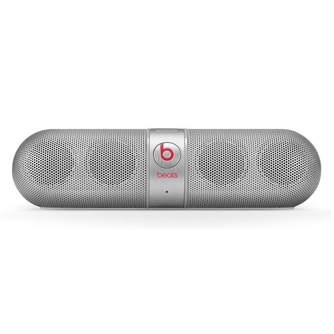 Тонколона Beats by Dre Pill 2.0 Wireless Speaker, 2.0, RMS 12W (6W + 6W), Bluetooth, сива, безжична аудио система, микрофон, оптимизирани за iPhone/iPad/iPod image