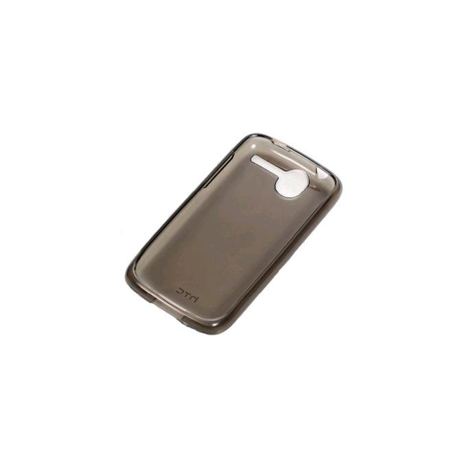 Калъф за HTC Desire, силиконов протектор, Силикон, HTC TPU Sleeve C520, кафяв image