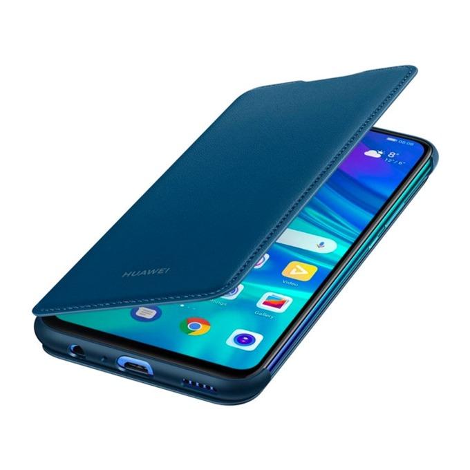 Калъф за Huawei P Smart (2019), Flip Cover Potter, син image