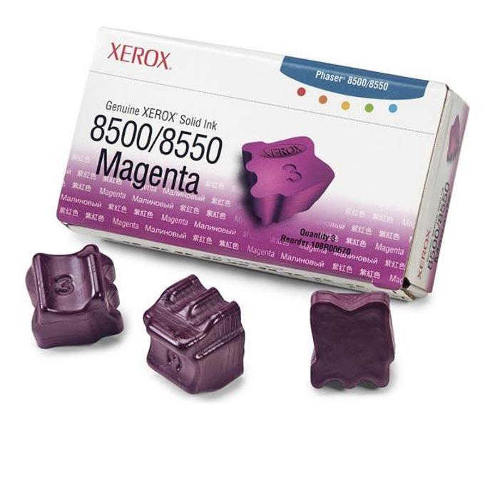 МАСТИЛО ЗА XEROX ColorStix ЗА PHASER 8500/8550 - ink 3 Magenta Sticks - P№ 108R00670 - заб.: 3000k image