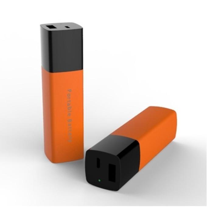 Външна батерия/power bank/ LG Portable Battery Charger BP3 2600 mAh, оранжев image
