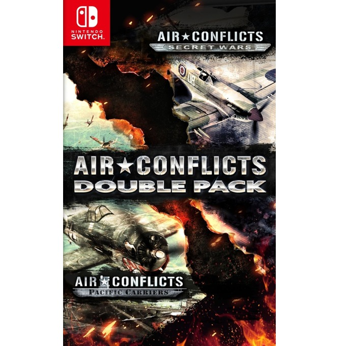 Игра за конзола Air Conflicts Double Pack, за Nintendo Switch image