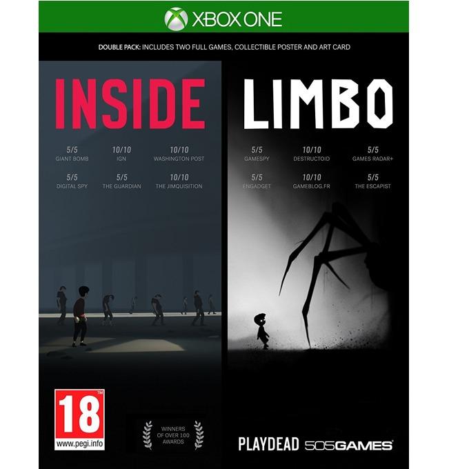 Игра за конзола INSIDE + LIMBO Double Pack, за Xbox One image