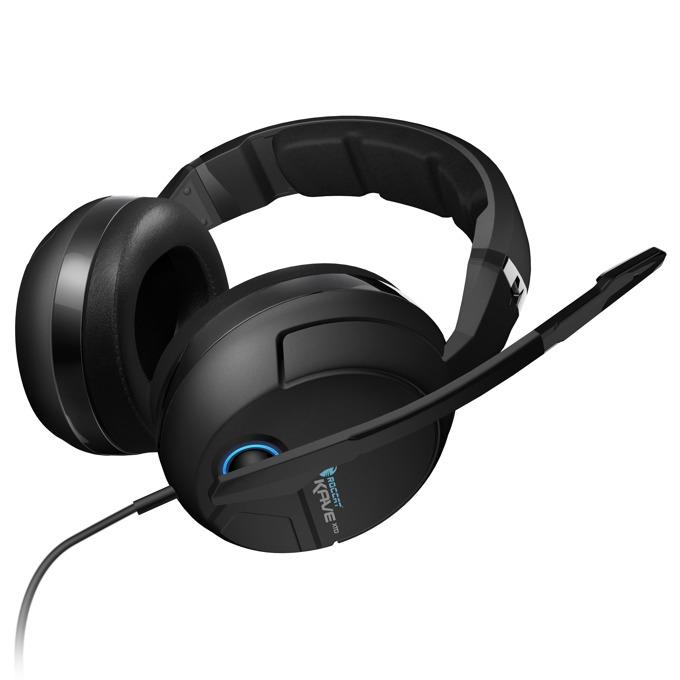 Слушалки ROCCAT Kave XTD 5.1 Analog, гейминг, микрофон, черни image