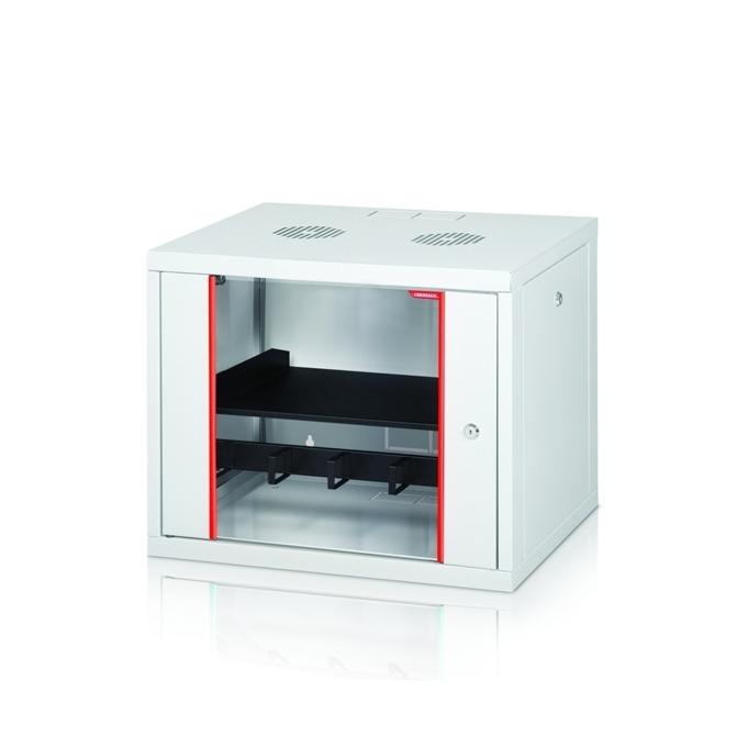 """Комуникационен шкаф Formrack GLD-20U450/ALFA-20U450, 19"""", 20U, 555 x 450 mm, бял image"""