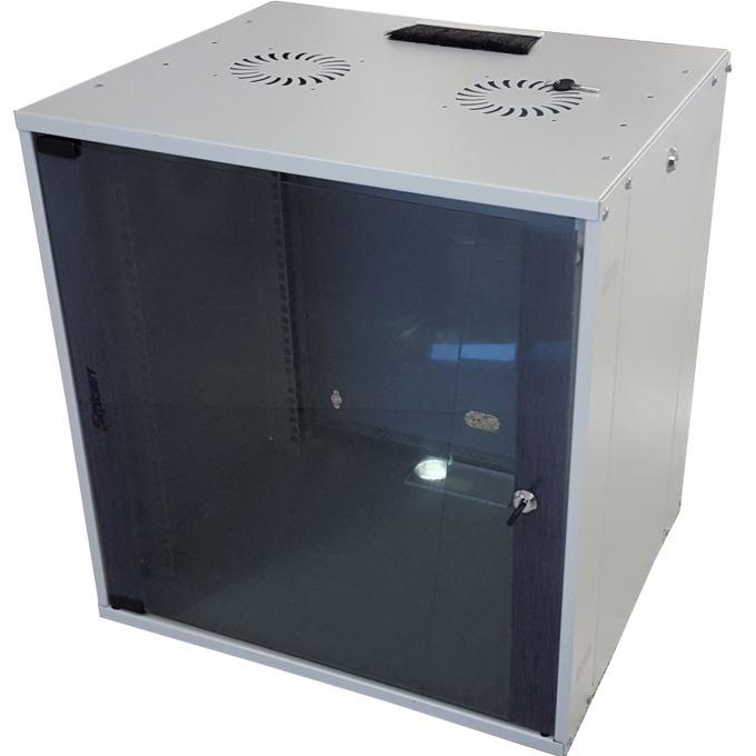 Комуникационен шкаф MIRSAN ComboBox, 540 x 570 x 450 мм, D=450 мм / 12U, бял, за стена image