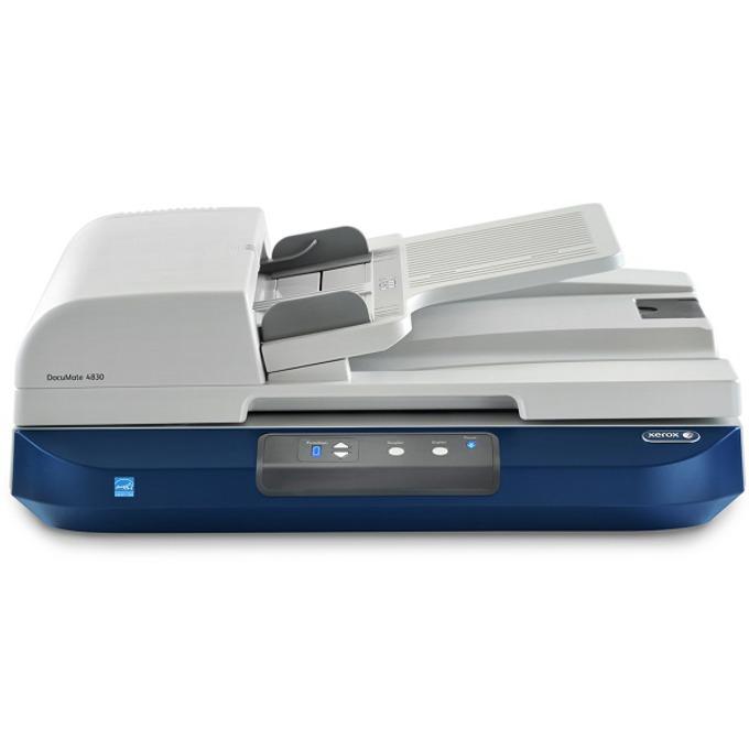 Скенер Xerox DocuMate 4830, 600 dpi, A3, двустранно сканиране, ADF, USB, 30 ppm / 60 ipm image