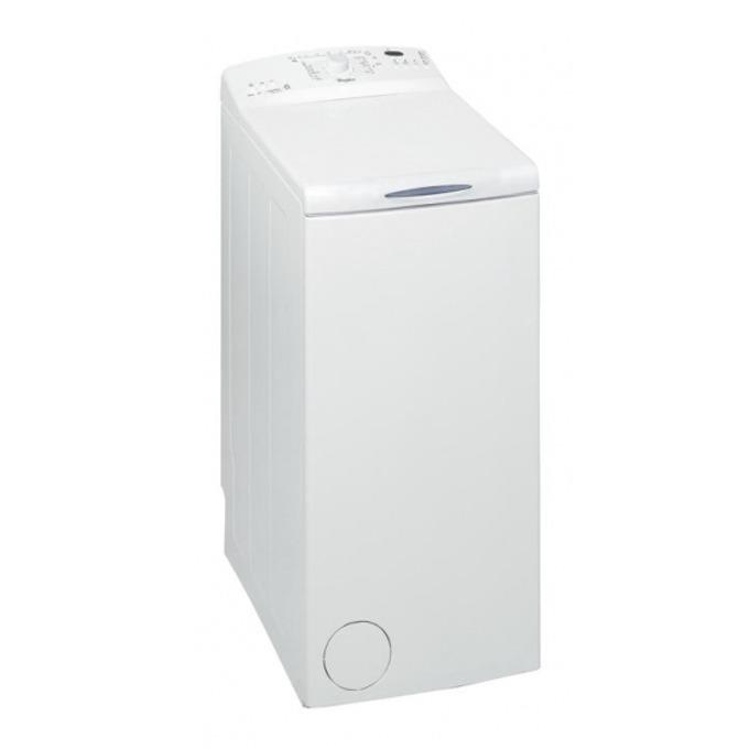 Перална машина Whirlpool AWE 66710, клас А+++, 6 кг. капацитет, 1000 оборота в минута, свободностояща, 40 cm. ширина, интензивно изплакване, отложен старт, бяла  image