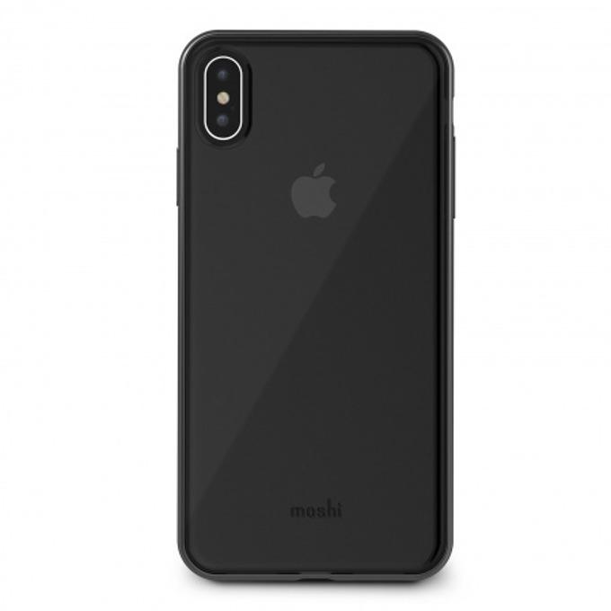 Kалъф за Apple iPhone XS Max, TPU, Moshi Vitros 99MO103035, черен image