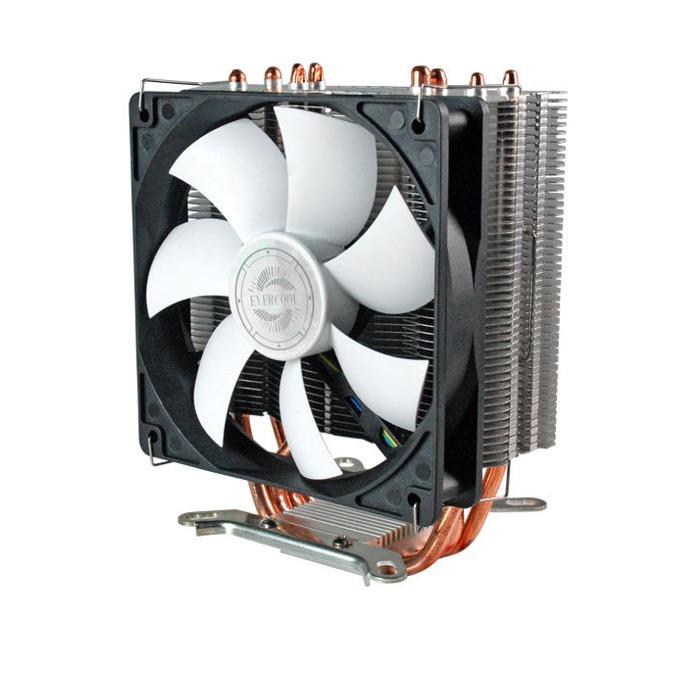 Охлаждане за процесор Evercool VENTI, LGA775/1366/1156//1155/2011 (до 200W) & AM2/AM2+/AM3/FM1 (до 200W) image