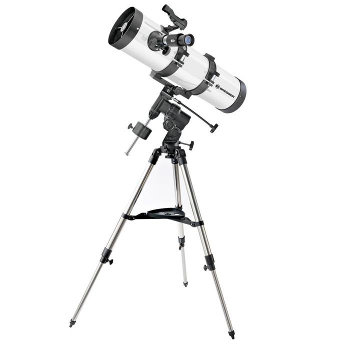 Телескоп Bresser 130/650 EQ3, 26–195x оптично увеличение, бял image