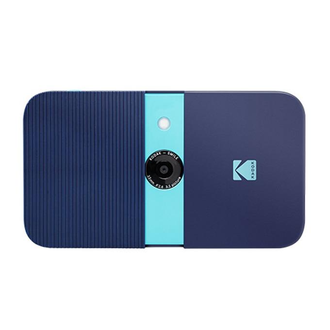 Фотоапарат Kodak Smile RODSMCAMBL(син), 10 Mpix, снимки с размер 2x3ʺ на хартия ZINK, LCD дисплей, MicroSD до 256GB image