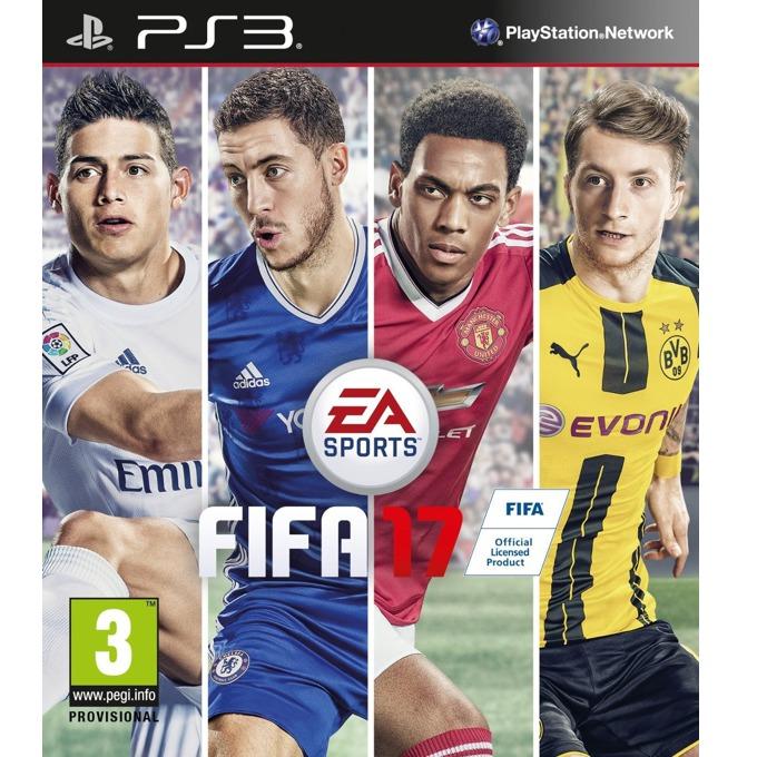Игра за конзола FIFA 17, за PS3 image