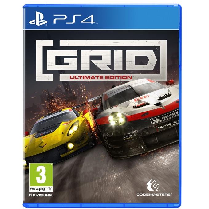 Игра за конзола Grid - Ultimate Edition, за PS4 image