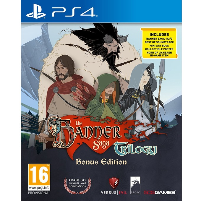 Игра за конзола The Banner Saga Trilogy Bonus Edition, за PS4 image