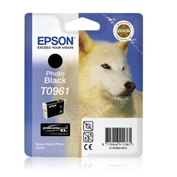 ГЛАВА ЗА EPSON Stylus Photo R2880 - Photo Black - T0961 - P№ C13T09614010 - 11.4ml image
