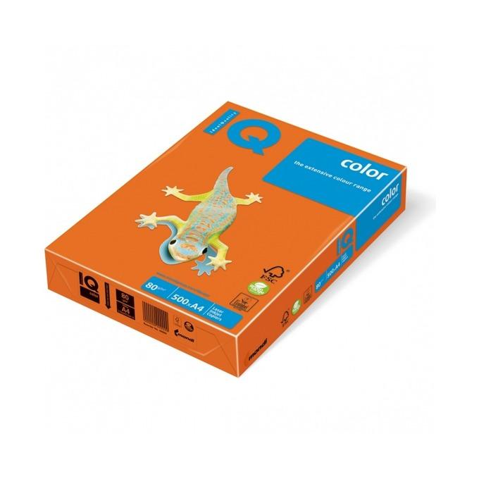 Хартия Mondi IQ Color OR43, A4, 80 g/m2, 500 листа, оранжева image
