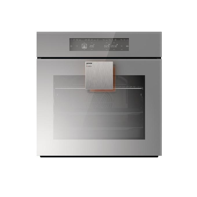 Фурна за вграждане GORENJE BO 658 ST, клас A+, 3300 W, DirecTouch управление, GentleClose затваряне, 8 функции, сензорно управление, 67 л., сива image