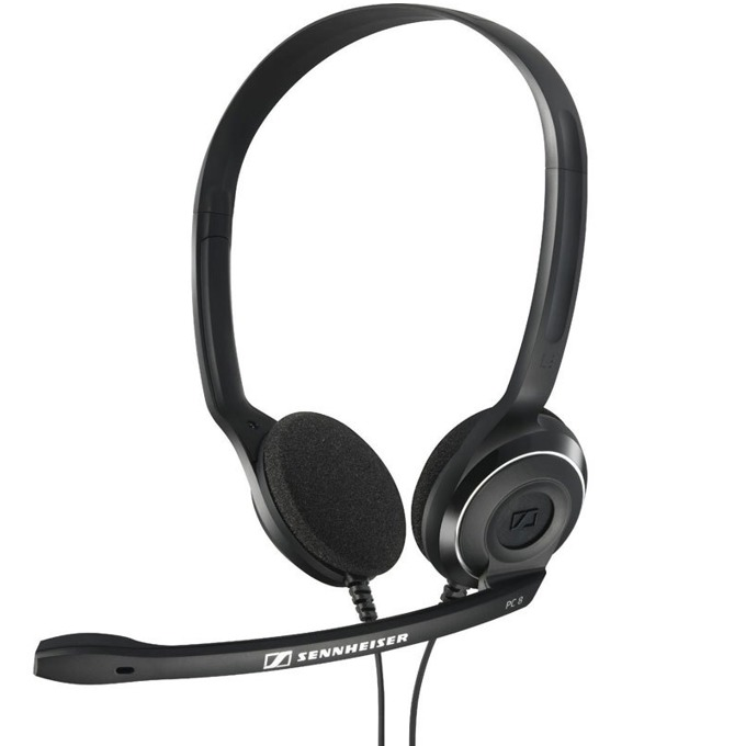 Слушалки Sennheiser PC 8 USB, микрофон, 42Hz-17kНz честотен диапазон, 2 м кабел, черни image