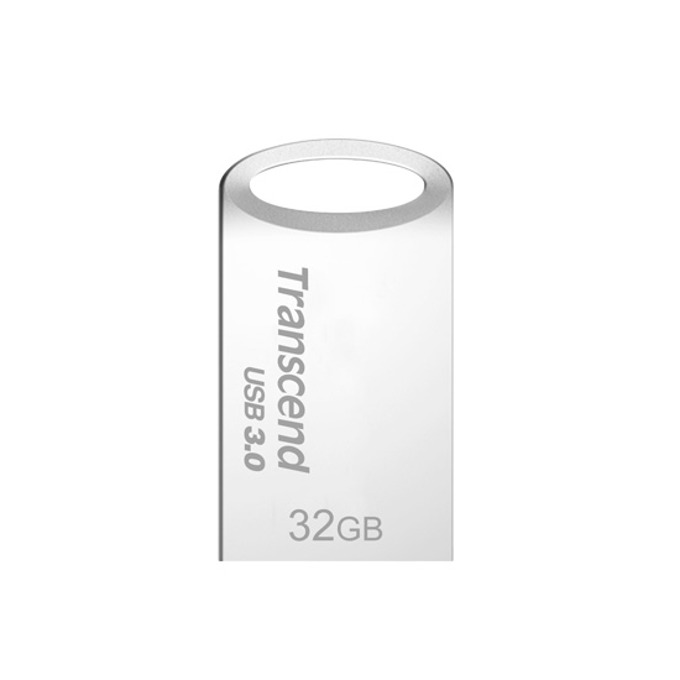 Памет 32GB USB Flash Drive, Transcend JetFlash 710, USB 3.0, сребриста image
