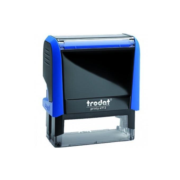 Автоматичен печат Trodat Rectangular 4913 син