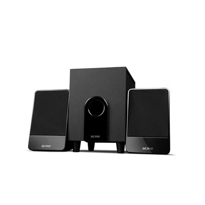 Тонколони Acme SS204, 2.1, 6W RMS, 45 Hz – 22 kHz, USB, черни image