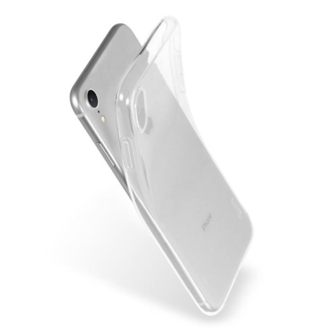 Kалъф за Apple iPhone XR, термополиуретанов, Torrii BonJelly Case IP1861-BON-01, прозрачен image