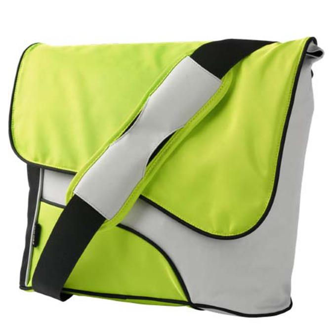 "Чанта за лаптоп Trust Street Style, 15.4""(39.12cm), зелено-сива image"