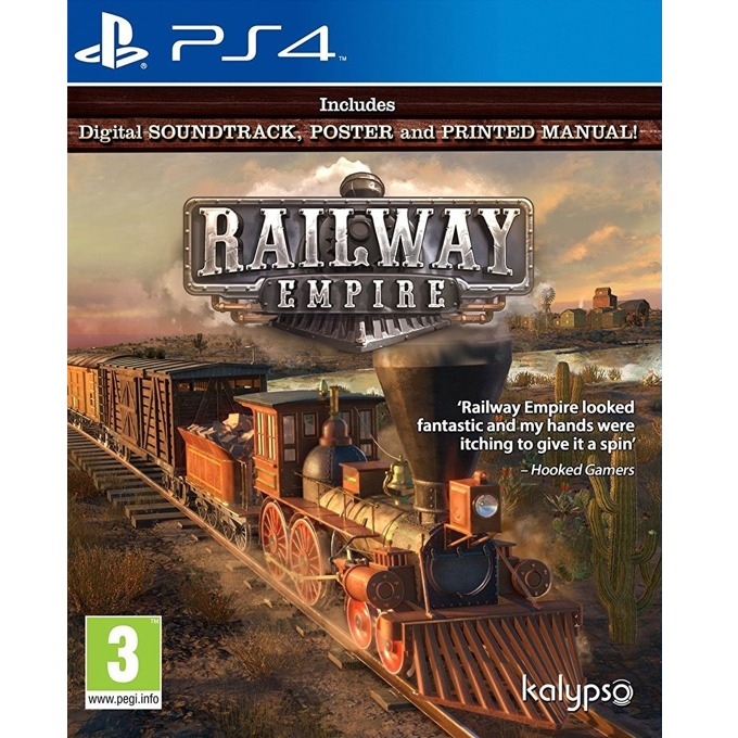 Игра за конзола Railway Empire, за PS4 image