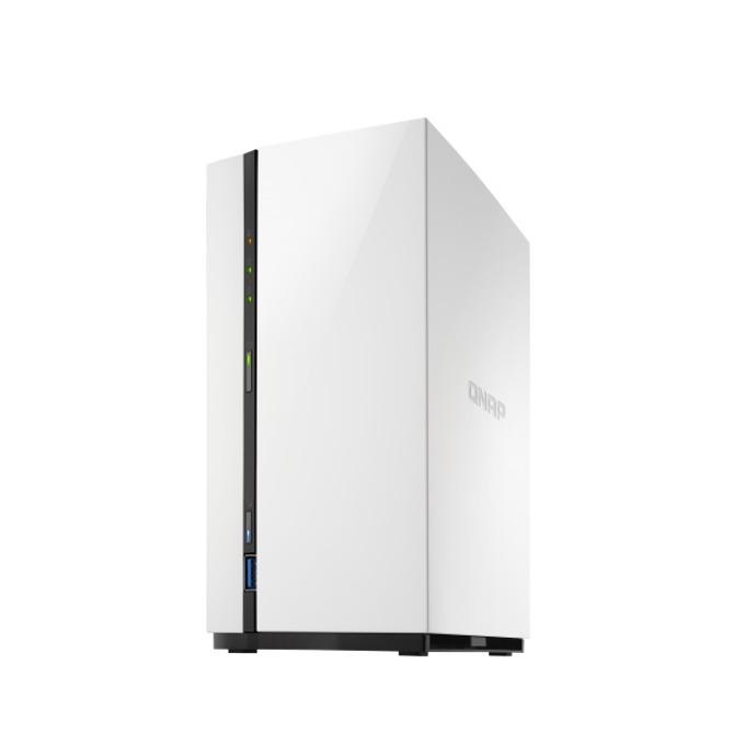 Qnap TS-228A, четириядрен Realtek RTD1295 1.4GHz, без твърд диск, 1GB DDR4, 1x 1GbE port, 1x USB 3.0 image