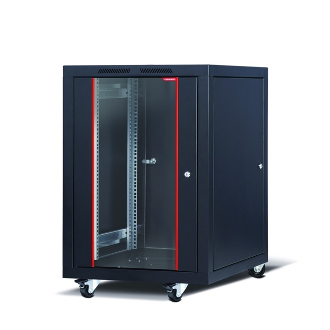 "Комуникационен шкаф Formrack CSM-16U6060, 19"", 16U, 600 x 600 mm, черен image"
