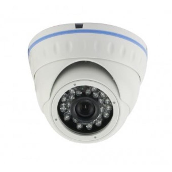 AHD/TVI/CVI/CVBS камера irLAN DOL-TAC1080F3.6SH25, куполна камера, 2.4MP(1080p), 3.6mm обектив, IR осветеност (до 20 m), за външен монтаж image