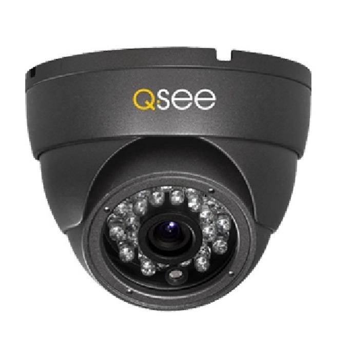 AHD камера Q-See QH8062D, куполна, 4MP(2688x1520@30FPS), 3.6mm обектив фиксиран, IR осветеност (до 30 метра), външна, IP66 защита image