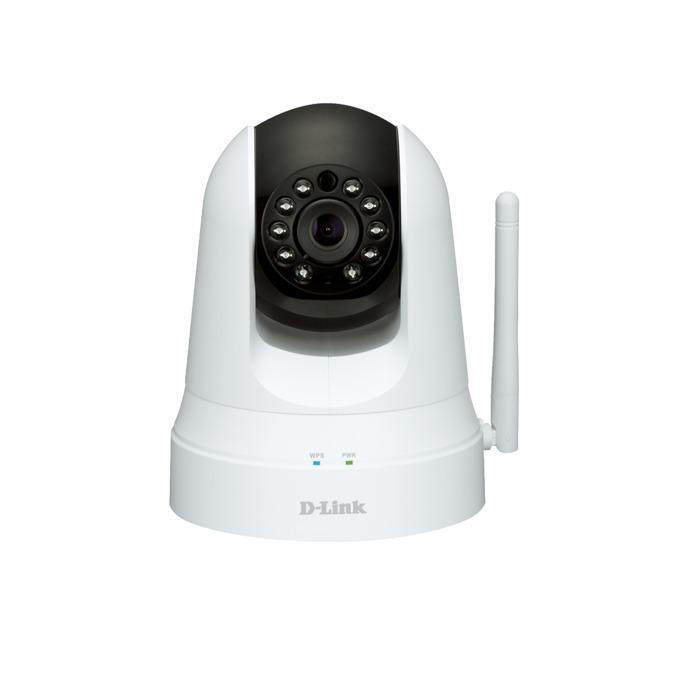 IP камера D-Link DCS-5020L, безжична мрежова, PT, 0.3Mpix, IR подсветка (до 8м) image