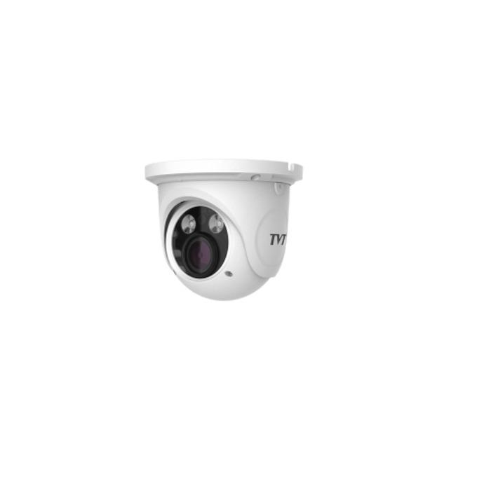 IP камера TVT TD-9525E1, куполна, 2 Mpix(1920×1080@25FPS), 2.8-12mm обектив, H.264/MJPEG, IR осветеност( до 30 метра), външна IP66, PoE, 1x RJ-45 image