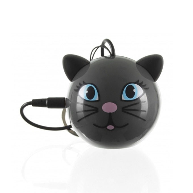 Тонколона KitSound Mini Buddy Cat, 2W преносима, USB, вградена Li-Ion батерия image