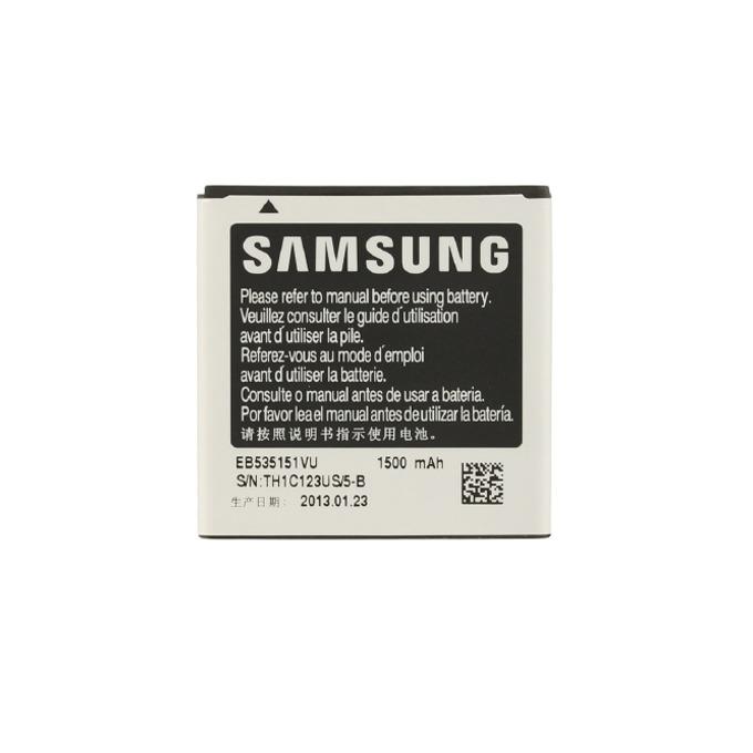 Батерия (заместител) за телефони Samsung, 1500mAh, 3.7V image