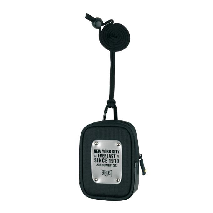 Калъф за фотоапарат Everlast, отделение за карти памет, противоударен, универсален, черен image